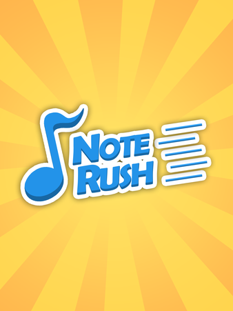 Note Rush Music Reading Flashcards Game